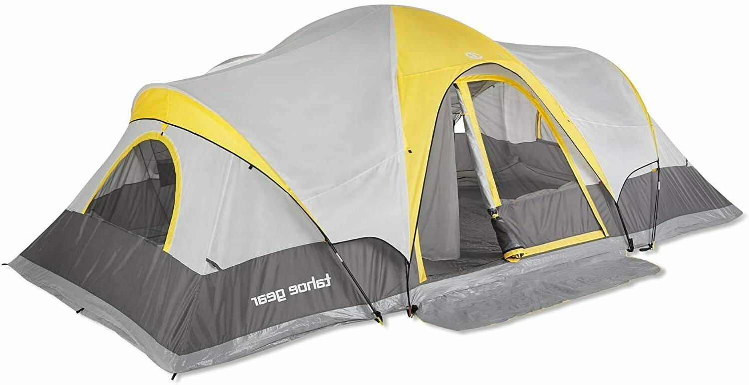 manitoba 14 person family outdoor camping tent