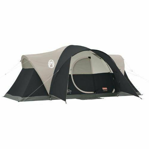 Coleman Montana 8 Person Family CAMPING TENT, 16x7 Ft 1 Room