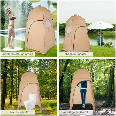 1-2 Person Portable Pop Up Toilet Shower Tent Changing Room