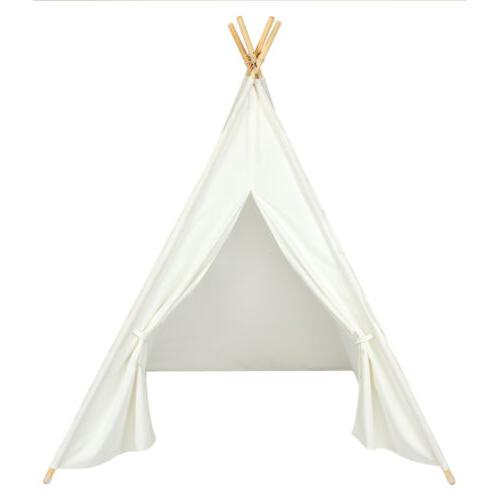 Portable Dream Teepee Toddlers Hideaway White
