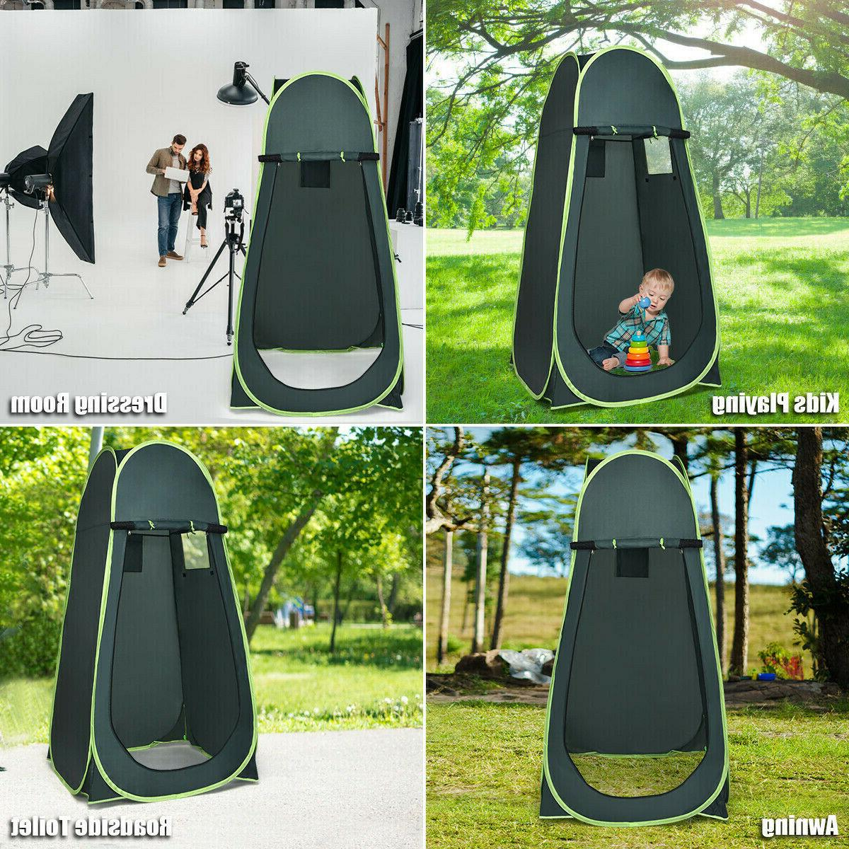 Portable Green Outdoor Up Tent Camping Privacy Changing Room