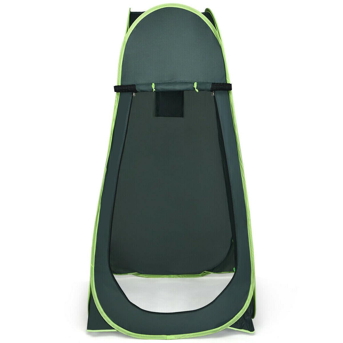 Up Tent Camping Shower Privacy Changing