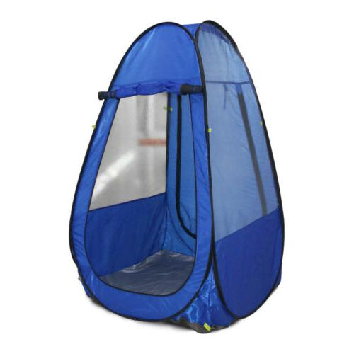 portable outdoor single pop up toilet dressing