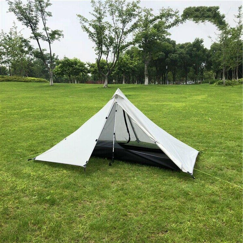 Ultralight 2 Pyramid Tent Outdoor Backpacking