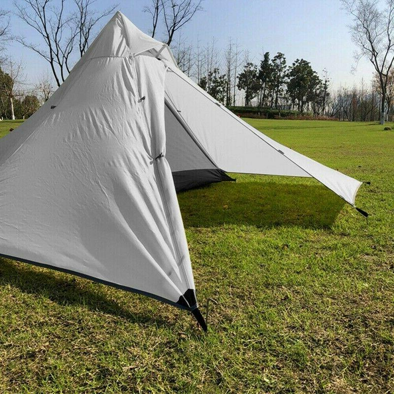 Pyramid Tent Backpacking New