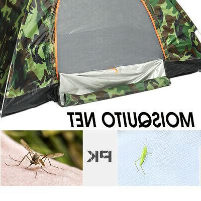 US Outdoor Camouflage Tent Folding Waterproof Hiking