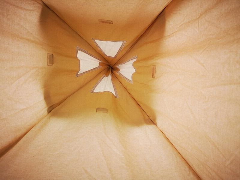 US Canvas Tipi Tent for 2~3 Person