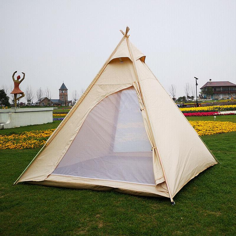Camping Pyramid Tipi Tent for 2~3 Person