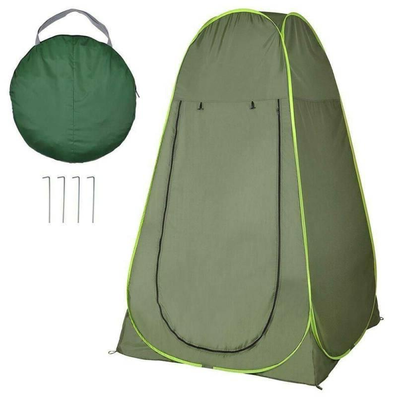 usportable outdoor pop up shower tent camping