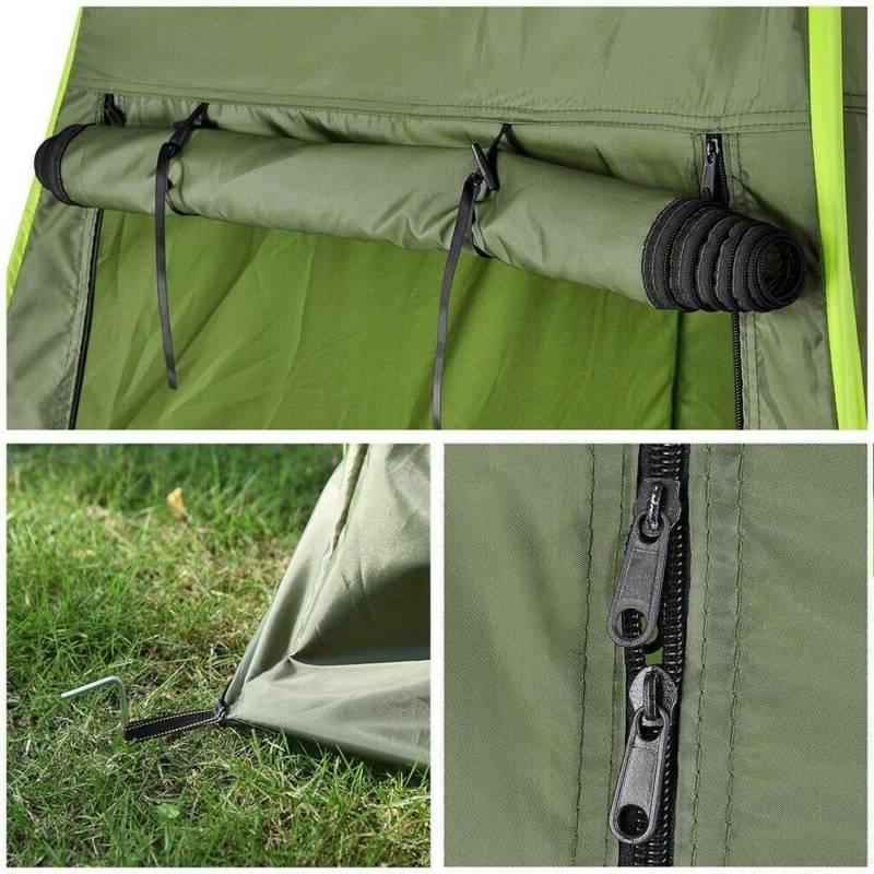 USPortable Pop-up Tent Camping Toilet Privacy Changing