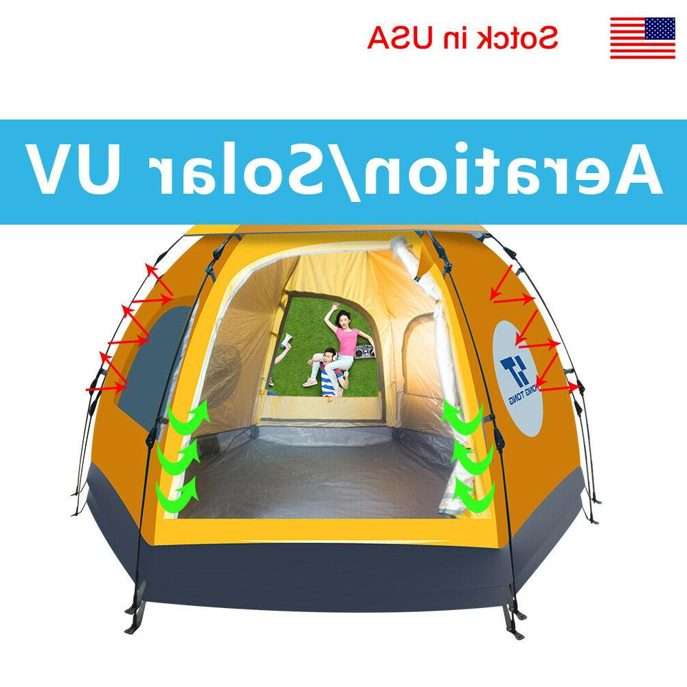 Waterproof People Automatic Instant Pop Tent Hiking