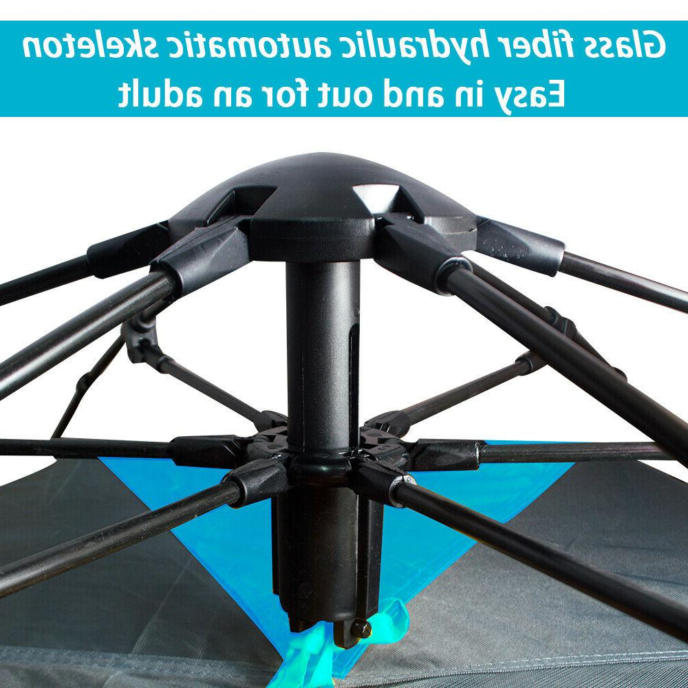 Waterproof 5-6 People Automatic Instant Up Tent Hiking