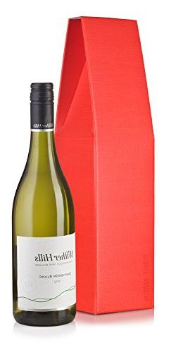 """Wine and Liquor Red Taper Tent Top Gift Box - 6 Pack - 14.5"""""""