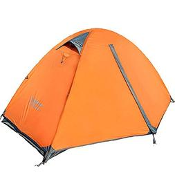 Flytop 3-4 Season 2-Person Double Layer Backpacking Tent Alu