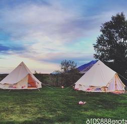 Luxury 5 Meter Bell Tent Outdoor Large Eco Glamping Camping