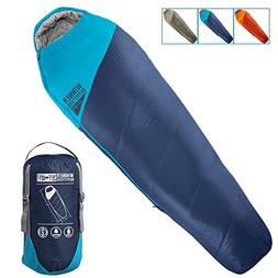 Winner Outfitters Mummy Sleeping Bag with Compression Sack,