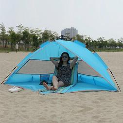 Outdoor Fishing Picnic Up Beach Tent Sun Shelter Quick Caban