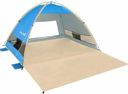 Pop Up Beach Tent-Canopy Sun Shade Shelter-Outdoor for Campi