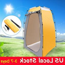 Pop Up Privacy Tent Portable Outdoor Shelter Shower Dressing
