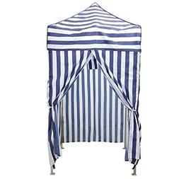 TMS Portable Cabana Stripe Tent Privacy Changing Room Pool C