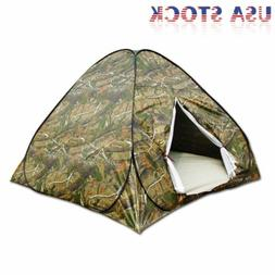 Portable Camouflage Pop Up Camping Hiking Automatic Instant