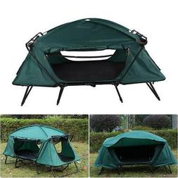 Portable Folding 2-person Camping Tent Cot Elevated Waterpro
