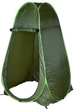 Portable Green Outdoor Pop Up Tent Camping Shower Privacy To