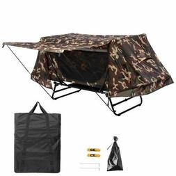 Portable Single Camping Tent Cot Folding Waterproof Hiking B