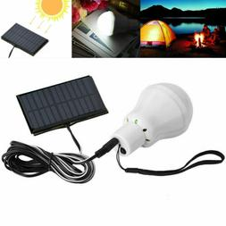 Portable Solar Powered LED Bulb Lights Rechargeable Outdoor