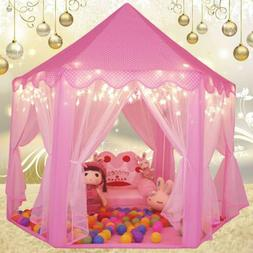 Princess Castle Play House, Large Indoor/Outdoor Kids Play T