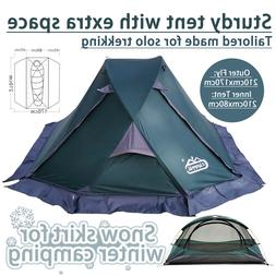 Professional High Qaulity Four Seasons Mountain Tent for 1 S