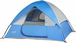 Wenzel Ridgeline Family Tent, Blue, 3 Person