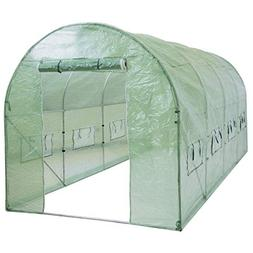 Best Choice Products 15x7x7ft Portable Large Walk in Tunnel