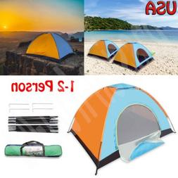 Sundome 2-Person Dome Tent Automatic Pop Up Instant Tent 4 S