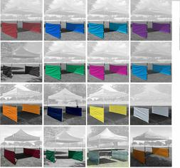 Two Half Walls for Pop Up Tent Canopy Shelter 10'x10', 10'x1