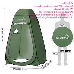 WolfWise Shower Tent Privacy Portable Camping Beach Toilet P