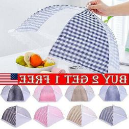 US Kitchen Food Cover Fold Tent Camp Cake Covers Umbrella Me