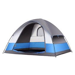 SEMOO Water Resistant 5 Person 3-Season Lightweight Family D