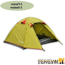 Weanas Professional Backpacking Tent 2 3 4 Person 3 Season W
