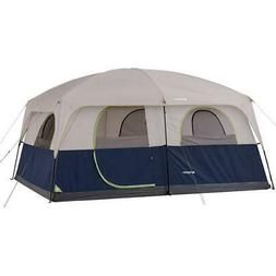 Waterproof Family Cabin Tent 10 Person 2 Room Outdoor Hiking