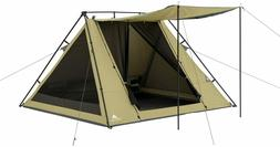 Ozark Trail WMT-080752B 4 Person A-Frame Tent with Awning
