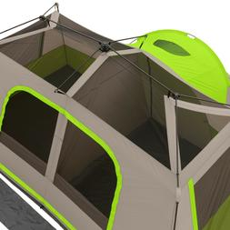 Ozark Trail WMT-141476A 11-Person Instant Cabin with Private
