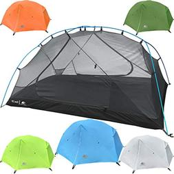Hyke & Byke 2 Person Backpacking Tent with Footprint - Light